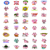 Here are my illustrations for LINE Sticker. PinkyDot